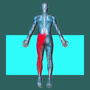Sacroiliac leg pain